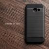 เคส Samsung Galaxy A5 2017 เคสนิ่มเกรดพรีเมี่ยม (Texture ลายโลหะขัด) กันลื่น ลดรอยนิ้วมือ สีดำ