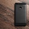 เคส Xiaomi MI MAX 2 เคสนิ่มเกรดพรีเมี่ยม (Texture ลายโลหะขัด) กันลื่น ลดรอยนิ้วมือ สีดำ