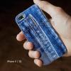 เคส iPhone 5 / 5S / SE เคส TPU (หนา) พิมพ์ลาย ลายกางเกงยีนส์ 1