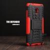 เคส Lenovo Vibe P1 กรอบบั๊มเปอร์ กันกระแทก Defender สีแดง (เป็นขาตั้งได้)