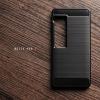 เคส Meizu Pro 7 เคสนิ่มเกรดพรีเมี่ยม (Texture ลายโลหะขัด) กันลื่น ลดรอยนิ้วมือ สีดำ