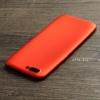 เคส OPPO R11 เคสนิ่ม TPU สีเรียบ สีแดง