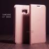 เคส Samsung Galaxy S7 EDGE เคสฝาพับเกรดพรีเมี่ยม (เย็บขอบ) พับเป็นขาตั้งได้ สีโรสโกลด์ (Dux Ducis)