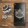 เคส Huawei P8 เคสนิ่ม TPU พิมพ์ลาย 3D แบบที่ 1 (ขอบดำ) Royal Cross Badge