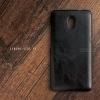เคส Lenovo Vibe P2 เคสนิ่มพิมพ์ลายหนัง (เย็บขอบ) สีดำ