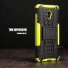 เคส Lenovo Vibe P1 กรอบบั๊มเปอร์ กันกระแทก Defender สีเขียวอ่อน (เป็นขาตั้งได้)