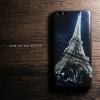 เคส Vivo V5 / V5s / V5 Lite เคสนิ่ม TPU พิมพ์ลาย (ขอบดำ) แบบที่ 7 Night Eiffel