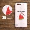 เคส OPPO R11 เคสนิ่มพิมพ์นูน 3D ลาย Watermelon Summer