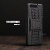 เคส Huawei P10 กรอบบั๊มเปอร์ กันกระแทก Defender (เป็นขาตั้งได้) สีดำ