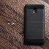 เคส Nokia 3 เคสนิ่มเกรดพรีเมี่ยม (Texture ลายโลหะขัด) กันลื่น ลดรอยนิ้วมือ สีดำ