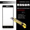 (มีกรอบ) กระจกนิรภัย-กันรอยแบบพิเศษ ขอบมน 2.5D (Xiaomi Redmi 4A) ความทนทานระดับ 9H สีดำ