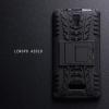 เคส Lenovo A2010 (TRUE Lenovo 4G A2010) กรอบบั๊มเปอร์ กันกระแทก Defender สีดำ (เป็นขาตั้งได้)