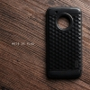 เคส Moto G5 Plus เคสนิ่มกันกระแทก พิมพ์นูน (ลายสามเหลี่ยมกราฟฟิค) สีดำ