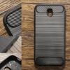 (ลงซ้ำ) เคส Samsung Galaxy J7 Pro เคสนิ่มเกรดพรีเมี่ยม (Texture ลายโลหะขัด) กันลื่น ลดรอยนิ้วมือ สีดำ