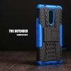 เคส Lenovo K6 Note เคสบั๊มเปอร์ กันกระแทก Defender (พร้อมขาตั้ง) สีน้ำเงิน