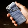 เคส iPhone 5 / 5S / SE เคส TPU (หนา) พิมพ์ลาย ลายกางเกงยีนส์ 2