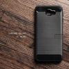 เคส Samsung Galaxy J5 Prime เคสนิ่มเกรดพรีเมี่ยม (Texture ลายโลหะขัด) กันลื่น ลดรอยนิ้วมือ สีดำ