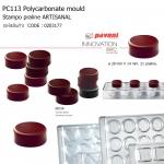 PC113 Polycarbonate Pralines stamp