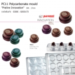 "PC11 Polycarbonate mould ""Praline Innovation""diam.30h.17mm"