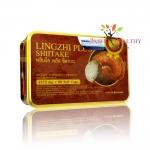 Lingzhi Plus Shiitake หลินจือ พลัส ชิตาเกะ บรรจุ 60 แคปซูล ราคา 790 บาท ส่งฟรี EMS