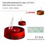 KT01A Thermoformedmould for cake diam.160mm h.45mm