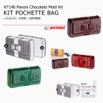 Pavoni Chocolate Mold Kit Pochette Bag KT146