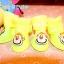รองเท้าสุนัข รองเท้าแมว บูทยางสีเหลือง (4 ข้าง) thumbnail 1