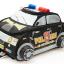 กล่องรถตำรวจ สีดำ police car bag -Black thumbnail 1
