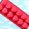 พิมพ์ขนม หัวใจทรงสูง 25กรัม/ช่อง B473