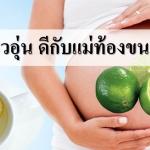 น้ำมะนาวอุ่น มีประโยชน์กับแม่ท้องมากกว่าที่คิด