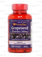 Puritan's Pride Grapeseed Extract 200 mg, 120 Capsules