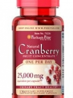 Puritan's Pride One A Day Cranberry 25,000 mg, 120 Capsules