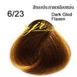 6/23 Dark Golden Flaxen สีทองประกายเหลืองหม่น