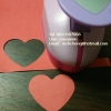 Punch เจาะกระดาษ รูปหัวใจ 2นิ้ว (4.8cm)