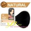 ครีมเปลี่ยนสีผม ดีแคช มาสเตอร์ แมส คัลเลอร์ครีม Dcash Master Mass Color Cream M 101 ดำ (Black) 50 ml.