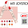 MTI เอ็มทีไอ จอยลิปสติก นวัตกรรมใหม่ของลิปสติกด้วยเทคโนโลยี HD Clear Film Former ^^สั่งเราส่งฟรี^^