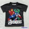 H&M : เสื้อยืด สกรีนลาย Avengers สีเทาดำ size : 6-8y