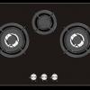 เตาแก๊ส Tecnogas รุ่นTNP HB SOMI 3073 GB