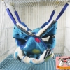 เปลนอนชูก้าร์ 3 ชั้น สีน้ำเงิน