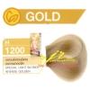 ครีมเปลี่ยนสีผม ดีแคช มาสเตอร์ แมส คัลเลอร์ครีม Dcash Master Mass Color Cream H 1200 บลอนด์อ่อนพิเศษประกายทองจัด (Special Light Blonde Intense Golen) 50 ml.