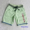 ZARA : กางเกงขาสั้น สีเขียว size : 8 / 16