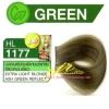 ครีมเปลี่ยนสีผม ดีแคช มาสเตอร์ แมส คัลเลอร์ครีม Dcash Master Mass Color Cream HL 1177 บลอนด์อ่อนพิเศษประกายเขียวหม่นเขียว ( Extra Light Blonde Ash Green Reflect) 50 ml.