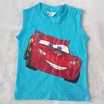 H&M : เสื้อกล้าม Mcqueen สีฟ้า Size 4-6y