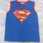 H&M : เสื้อกล้ามสีน้ำเงิน สกรีนลาย Superman size : 2-4y / 4-6y / 6-8y / 8-10y