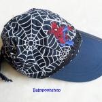 หมวก ลาย สไปเดอร์แมน สีดำ-กรม