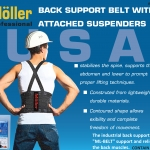 BACK SUPPORT BELT รุ่น ML-BELT-M