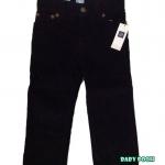 GAP : กางเกงลูกฟูกขายาว สีกรม size : 12-18m / 18-24m / 2y / 4y / 5y