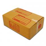 กล่องไปรษณีย์ฝาชนเบอร์ 0 ขนาด 11 X 17 X 6 cm. ใบละ 2.1 บาท
