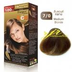 ครีมเปลี่ยนสีผม ฟาเกอร์ แฮร์ แคร์ เอ็กซ์เพิร์ท คอนดิชั่นนิ่ง เพอร์มาเนนท์ คัลเลอร์ครีม 7/0 สีบลอนด์กลาง Medium Blonde สีแฟชั่น (100มล)