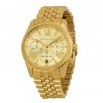 นาฬิกาข้อมือ Michael Kors รุ่น MK5556 Michael Kors Ladies Gold Plated Chronograph Watch MK5556 Size 38 mm